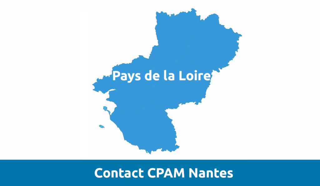contact CPAM Nantes